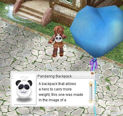 Donation for Pandaring Backpack: